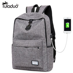 USB Charging Laptop and Travel Backpack