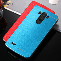 Ultra Slim Shock Proof Back Cover for Aluminum Case  LG Mobile Phone