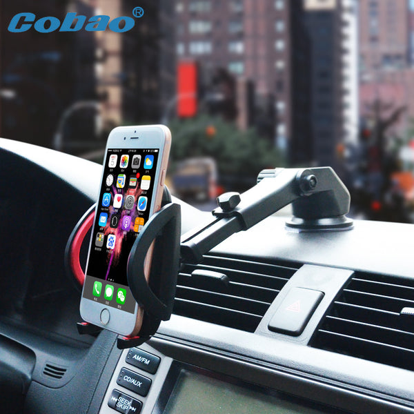 Universal & Adjustable Car Windshield Mobile Phone holder