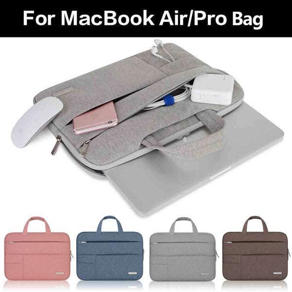 Executive Laptop Sleeve Handbag for Macbook Air 11.6, 13.3, and 15.4 inch