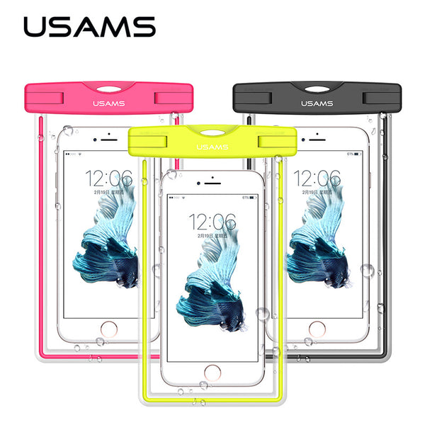 Waterproof Phone Bag Case for: Samsung S8 S7 for iPhone 7, 7 plus