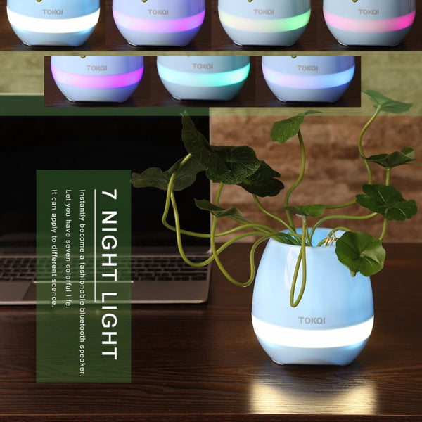 Smart Music Flower Pots Bluetooth Speaker