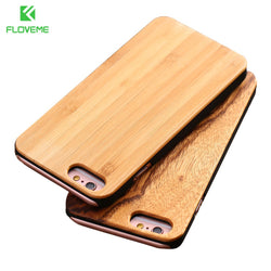 Wooden Phone Case Cover For iPhone and Samsung Phones