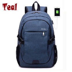 15.6 inch Laptop Backpack with USB charger