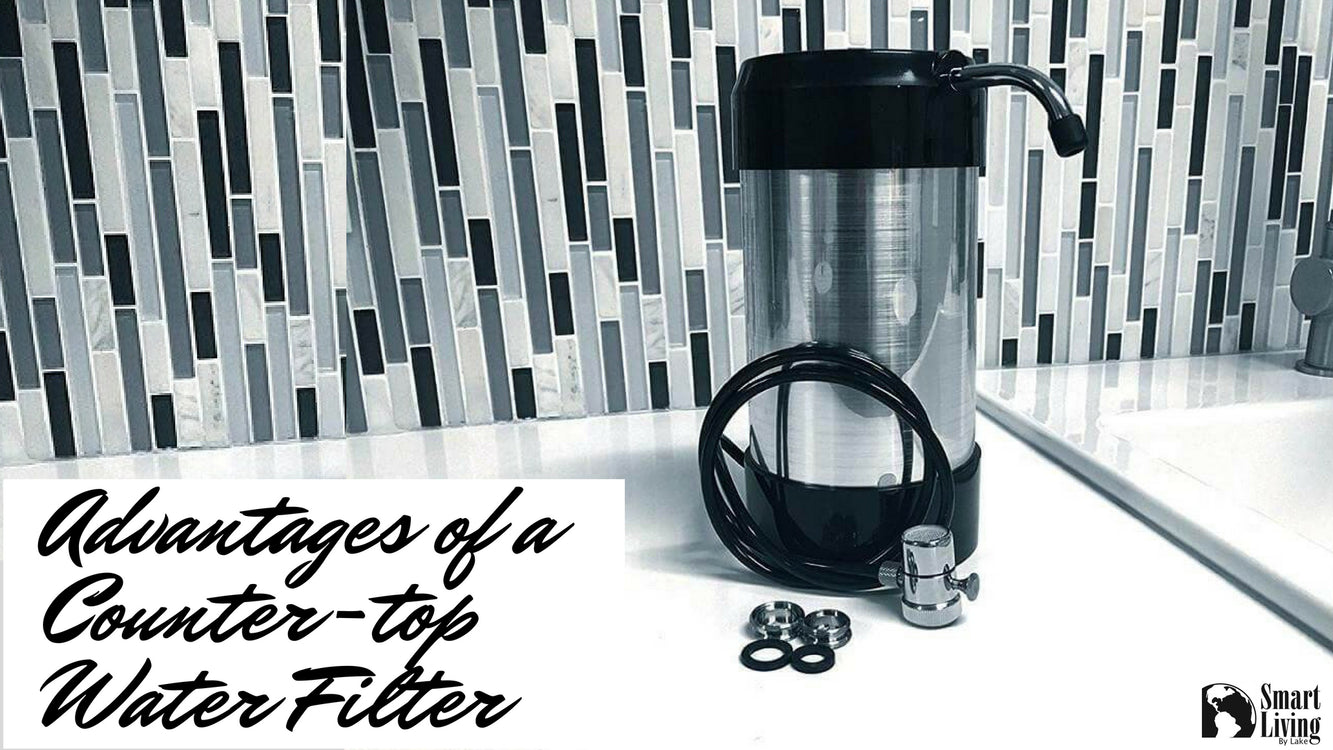 Advantages of a Counter-top Water Filter