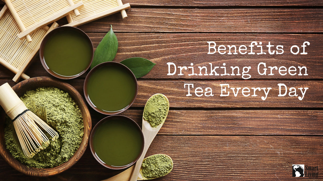 Benefits of Drinking Green Tea Every Day