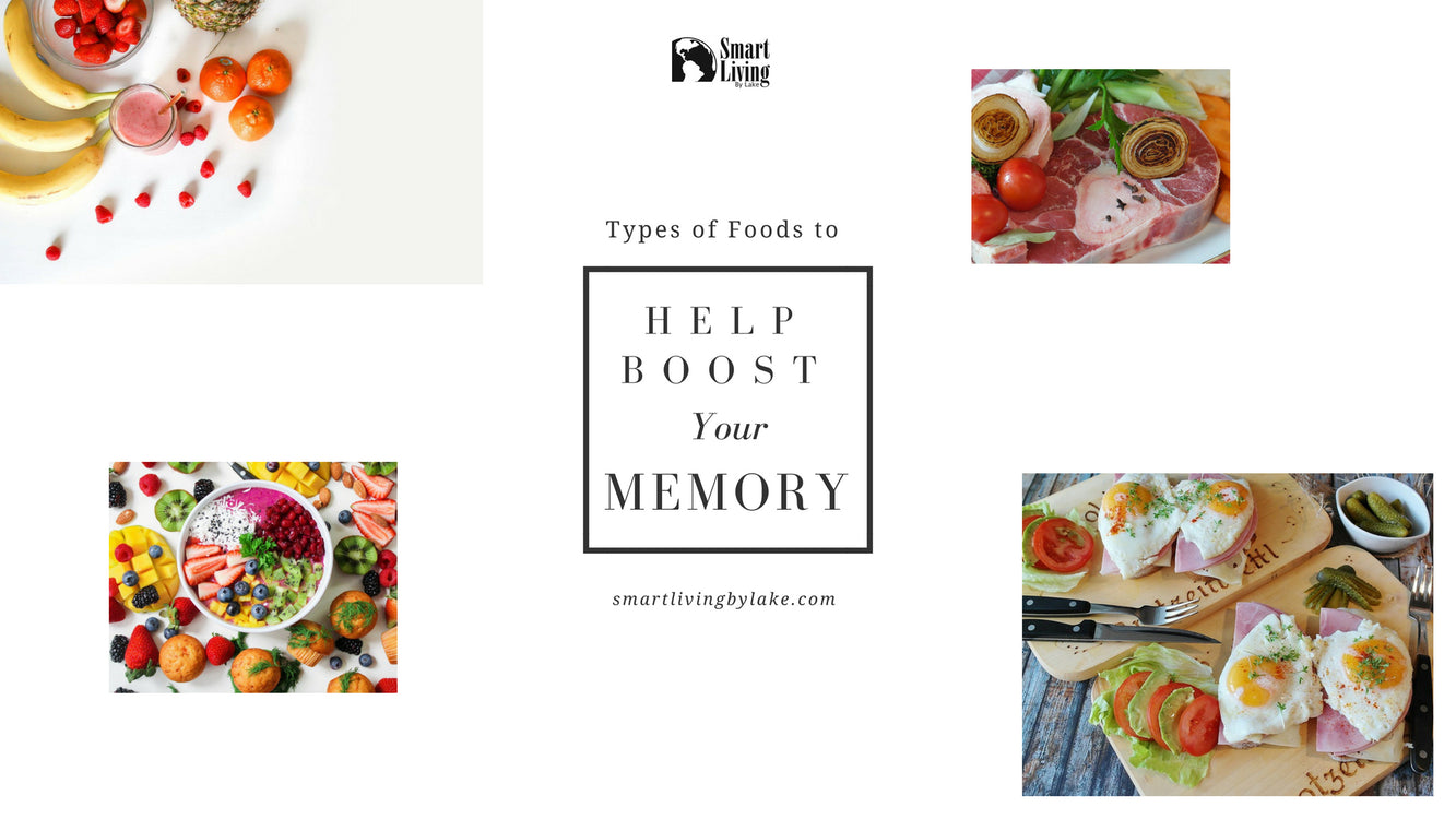 Types of Foods to Help Boost Your Memory