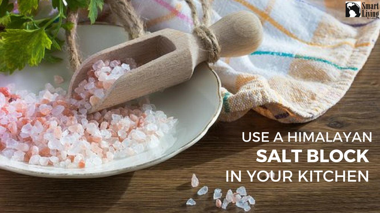 Use a Himalayan Salt Block in Your Kitchen