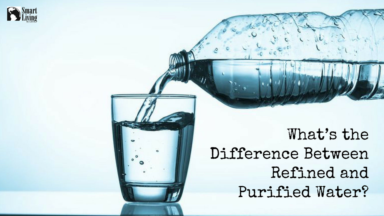 What's the Difference Between Refined and Purified Water?