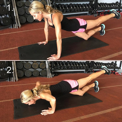 tri-pod shoulder pushupds