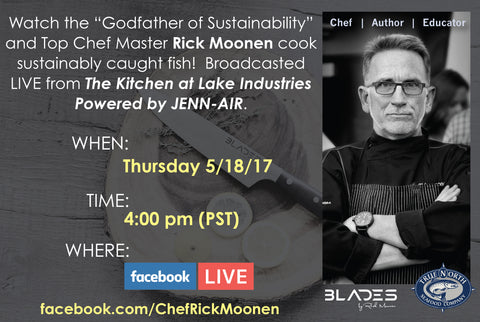 Chef Rick Moonen live Video