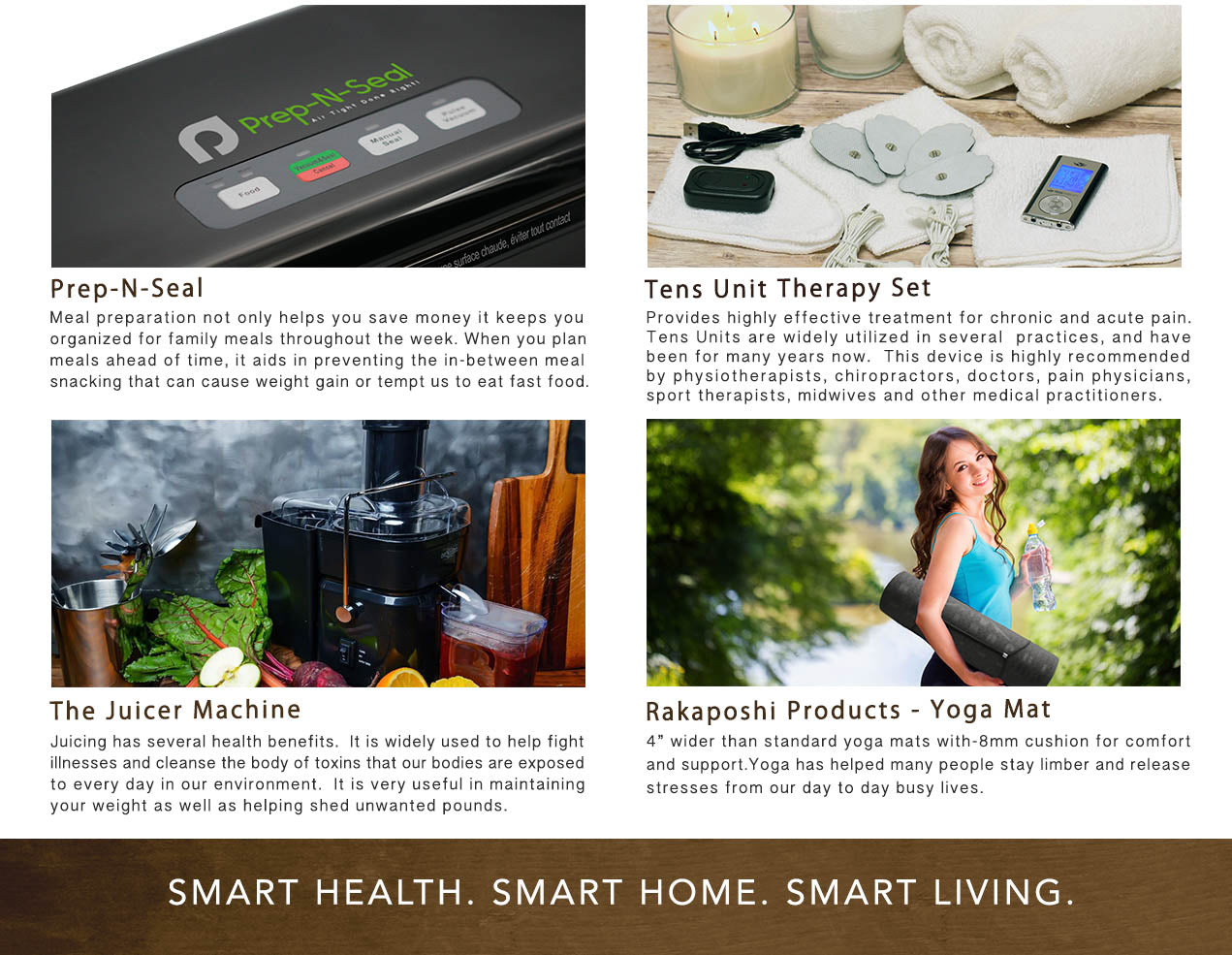 Healthy home products Smart living smart home