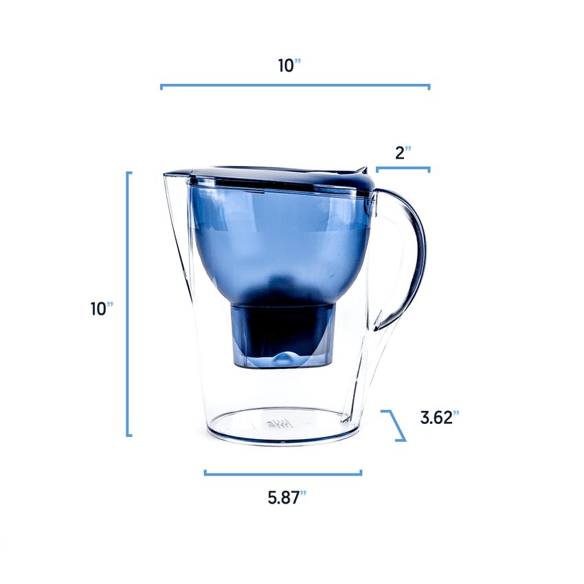 2.5 Alkaline Water Pitcher Measures