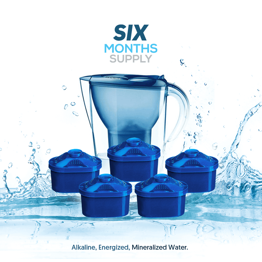 2.5 Alkaline Water Pitcher Package