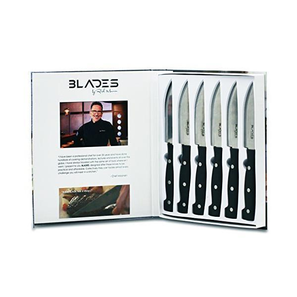BLADES by Rick Moonen 6pc Steak Knife Set