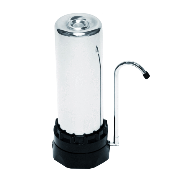 Stainless Steel Countertop Water Filtration System