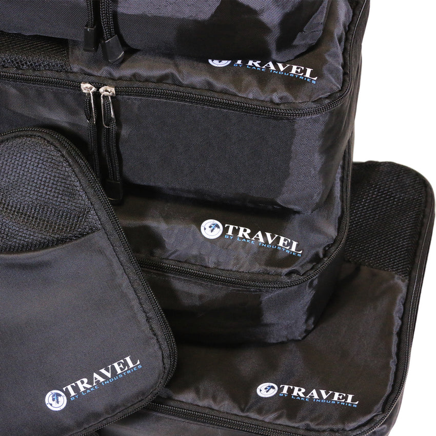 TRAVEL - Packing Cubes  5 piece set - Smart Living by Lake
