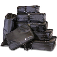 Travel Organization Cubes in Black