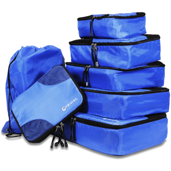 TRAVEL - Packing Cubes  7 piece set - Smart Living by Lake