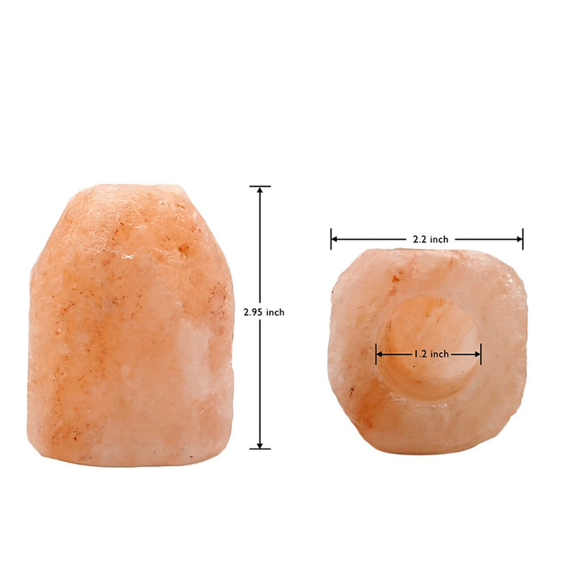 Rakaposhi Natural Himalayan Salt Rock Plug-in Wall Lamp - Smart Living by Lake