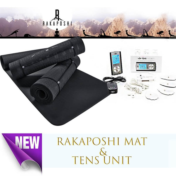 Rakaposhi Yoga Mat & Tens Unit Promo Package! - Smart Living by Lake