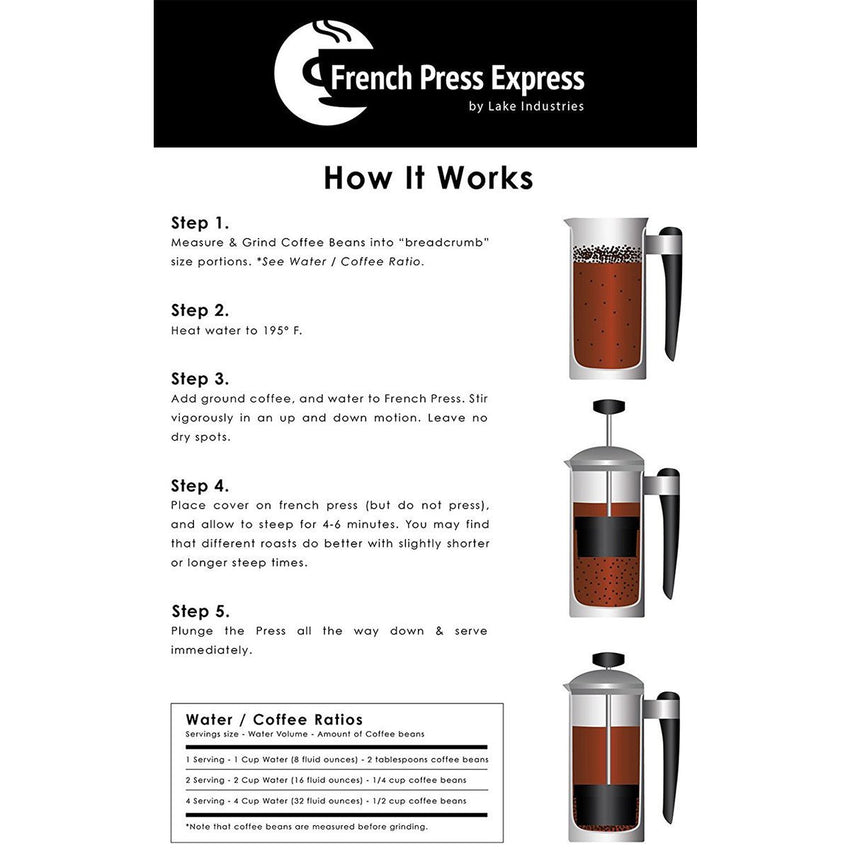 French Press Express Coffee Press