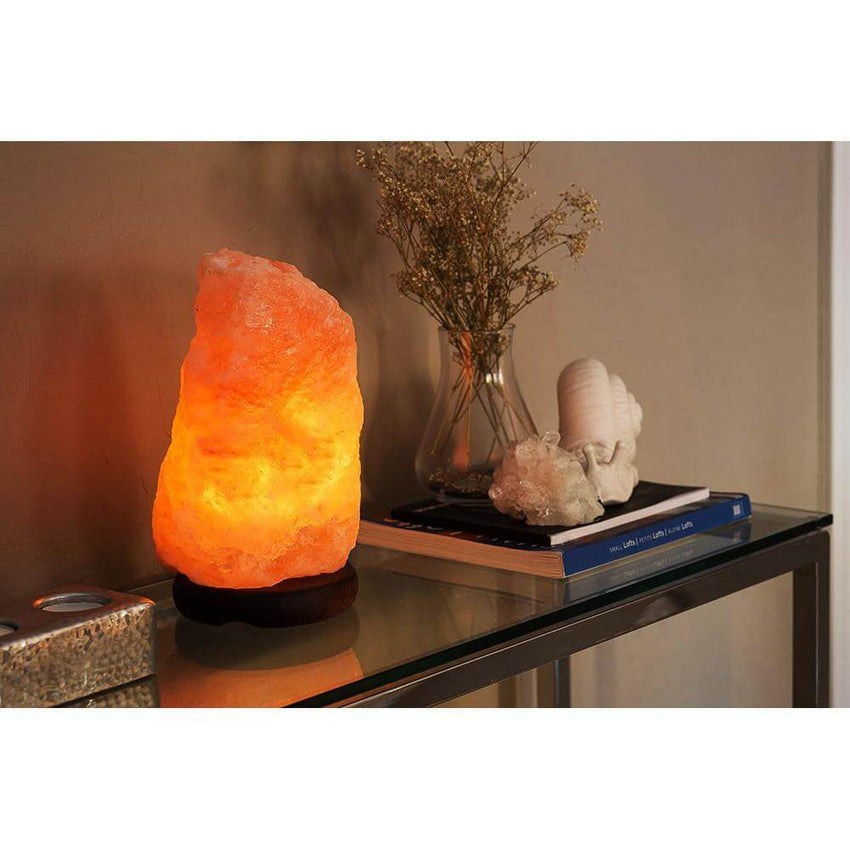 Rakaposhi Natural Himalayan Salt Rock Lamp
