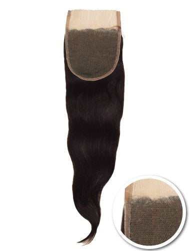 BRAZILIAN REMY FULL LACE CLOSURE 100% HAND TIED 4X4