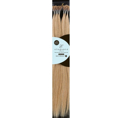 ELEGANTE REMY 100% HUMAN HAIR I-TIP SILKY STRAIGHT 120PCS
