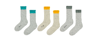 ADD NEW BOUCLETTE 3 PACK SOCKS $15