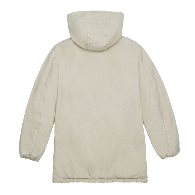 HOODED COACH JACKET DUNE