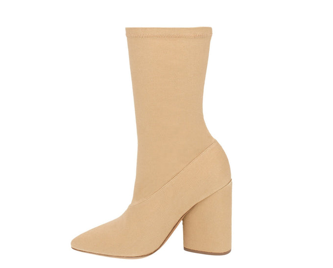 STRETCH CANVAS ANKLE BOOT DOLLAR