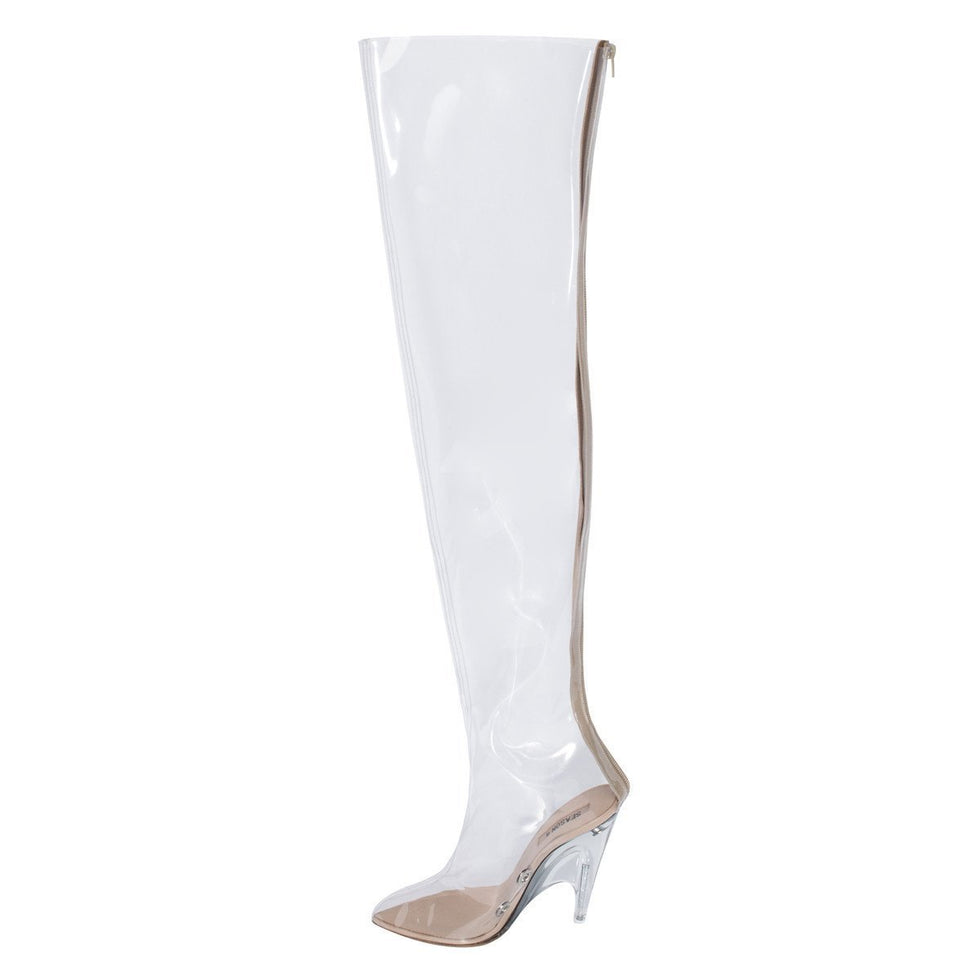 PVC TUBULAR BOOT TRANSPARENT