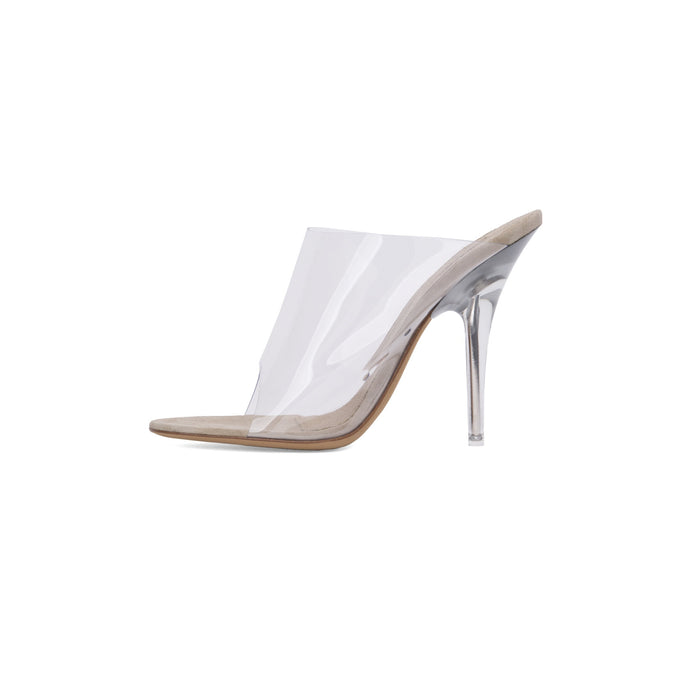 PVC HIGH HEEL CLEAR