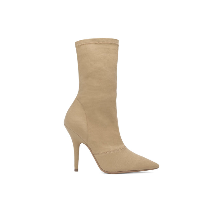 STRETCH CANVAS ANKLE BOOT HIGH DOLLAR
