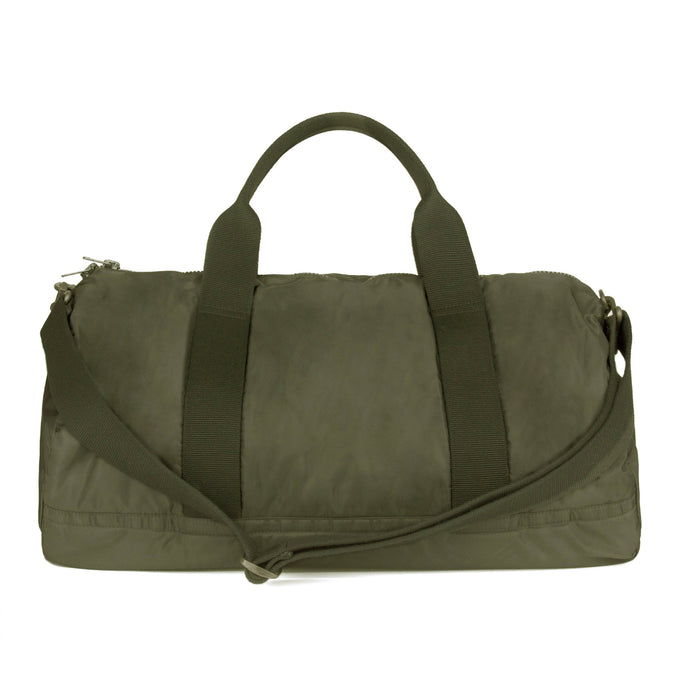 NYLON GYM BAG TRUFFLE