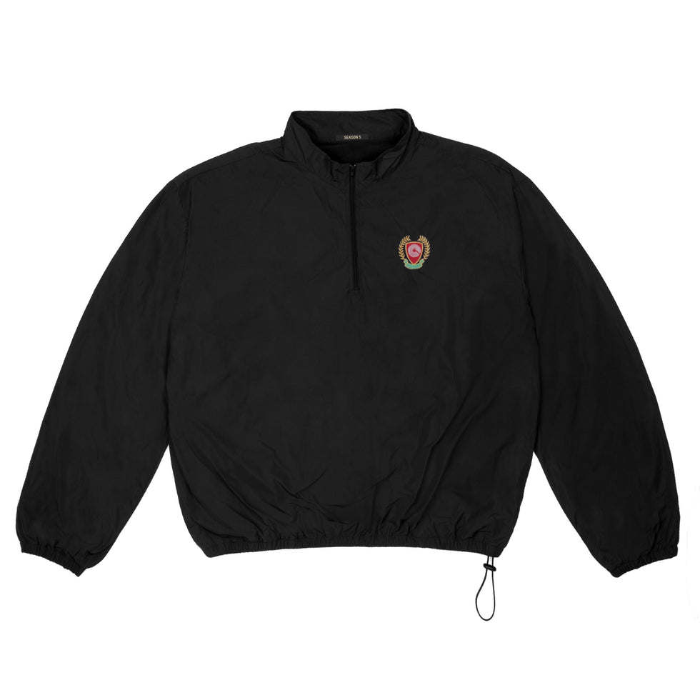 HALF ZIP WINDBREAKER INK