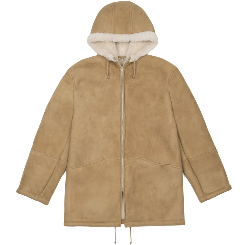 LONG SHEARLING DUNE