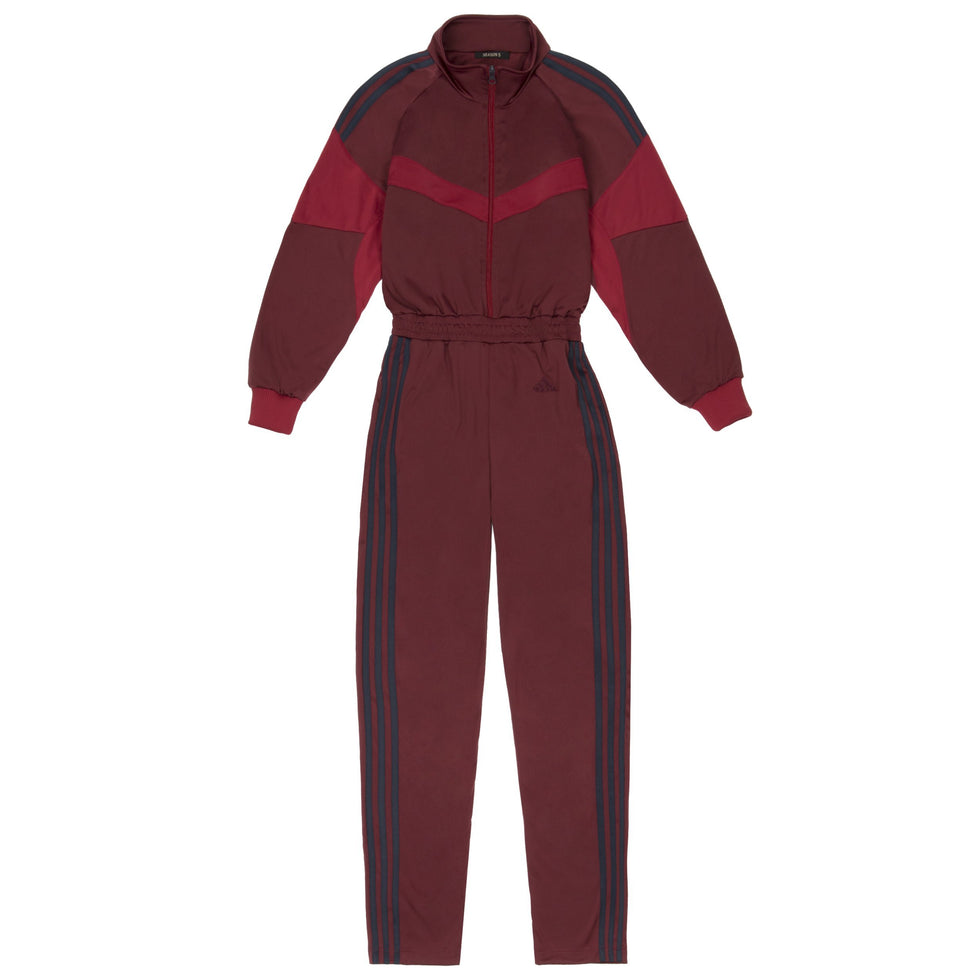 JUMPSUIT OXBLOOD