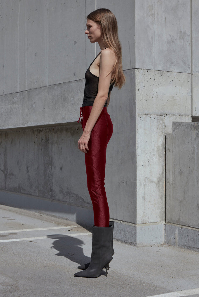 FOOTBALL PANT OXBLOOD