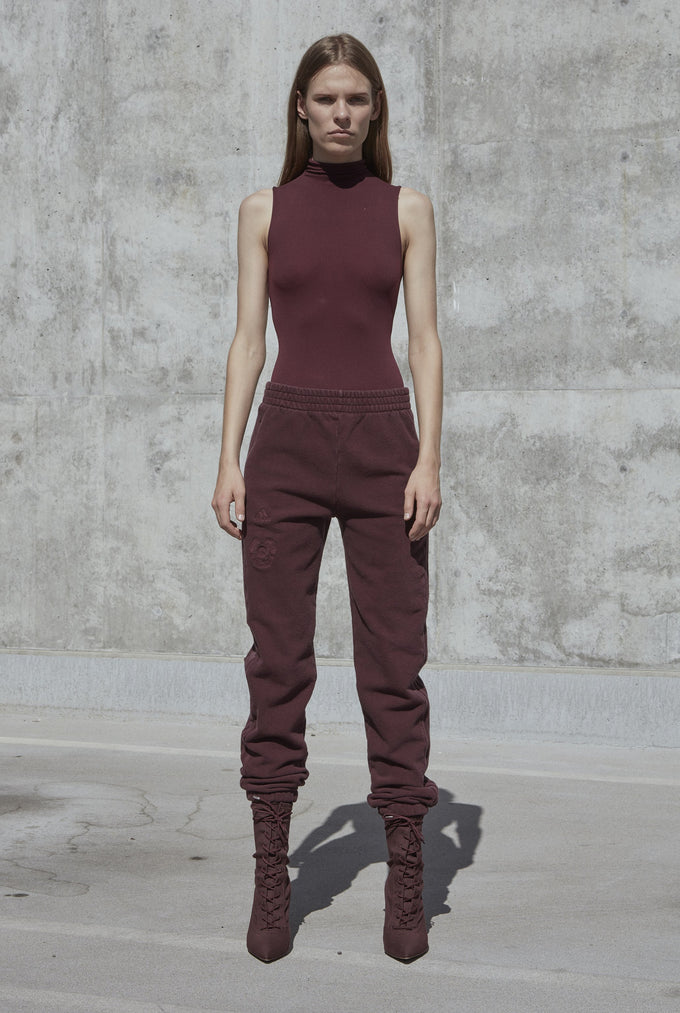 Womens Calabasas Sweatpants Oxblood