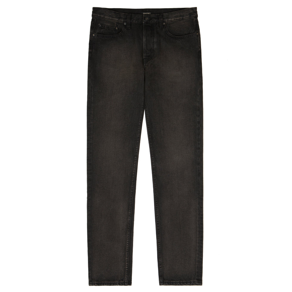 5 Pocket Men's Denim Black Brown
