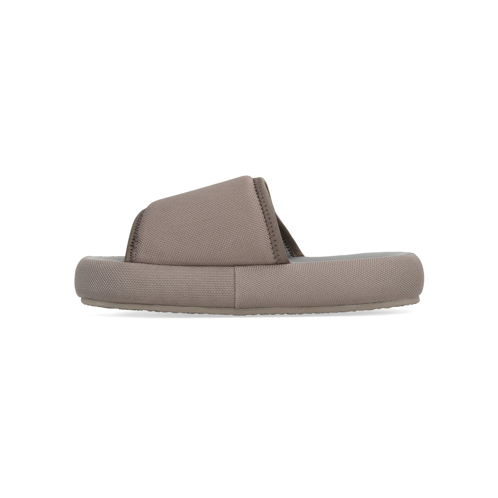 Women's Nylon Slipper Taupe