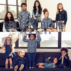 BLU and BLUE clothing for children