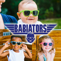 Babiators sunglasses for children and babies.