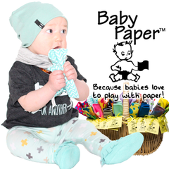 Baby Paper for babies and toddlers to play with.