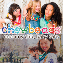 Chewbeads teething tools for babies and toddlers.
