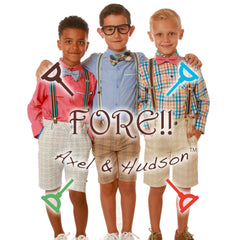 Fore Axel and Hudson clothing for children and babies.