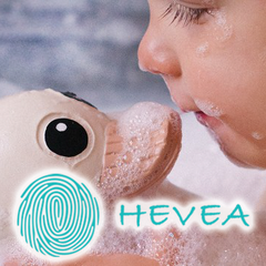 Hevea nontoxic natural rubber products for babies.
