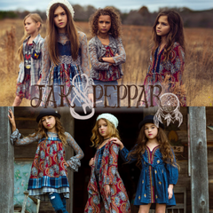 Jak & Peppar clothing for girls and babies.